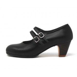 Manuela 39 A Leather Black Clásico 5 Exposed 4163