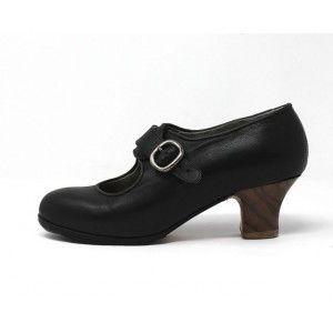 Lola 37,5 AA Leather Black Carrete 5 Exposed 4947