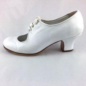 Carmen 36 AA Leather White Carrete 5 Covered 2126