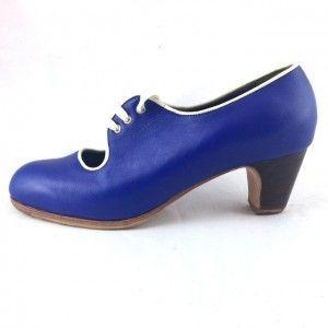 Carmen 38,5 A Leather Azulón/Marfil Clásico 5 Exposed 2649