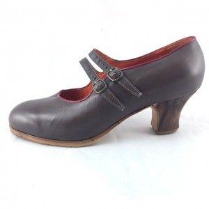 Manuela 38,5 AA Leather Taupe/Fucsia Carrete 5 Exposed 2979