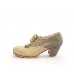 Carmela 36,5 AA Leather/Pearlized Leather Wheat/Gold Cubano 5 Exposed 4282