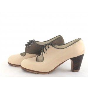 Carmen 36,5 A Leather/Nubuck Cream/Congo Clásico 6 Exposed 4334