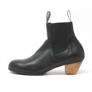 Boto 40,5 AA Leather Black Cubano 5 Exposed